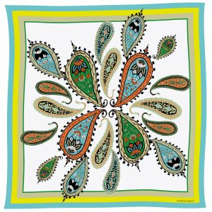 Pañuelo estampado paisley